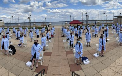 Rooftop or Bust! Class of 2022 Blue Coat Ceremony Held Outdoors